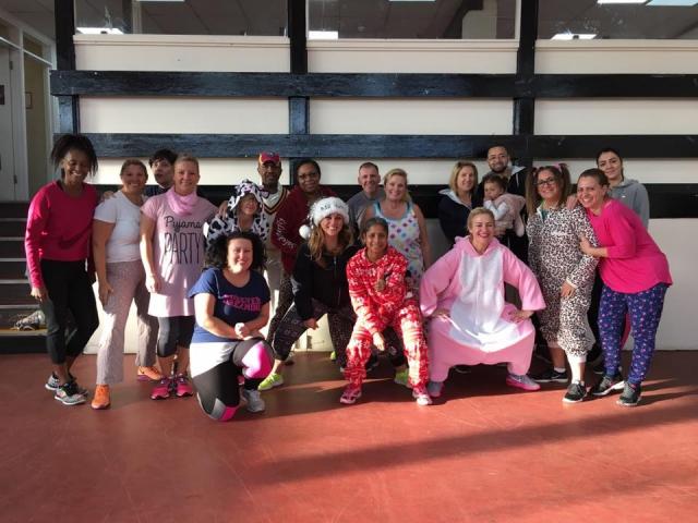 Rangers Pyjama Party :-)
