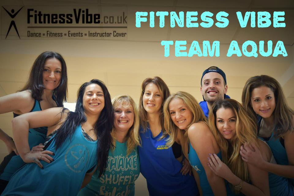 The Fitness Vibe Aqua Zumbe team