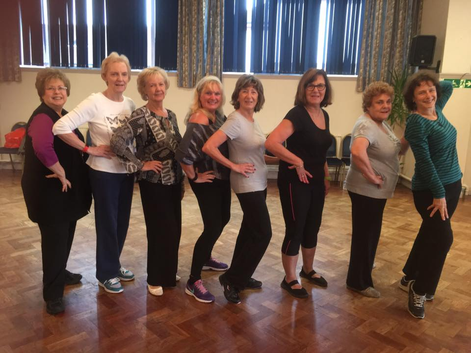 Are we ready ladies... 9.45 am Southgate and Cockfosters Synagogue Zumba Gold let's get the party started