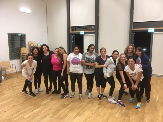 New Options Zumba ladies