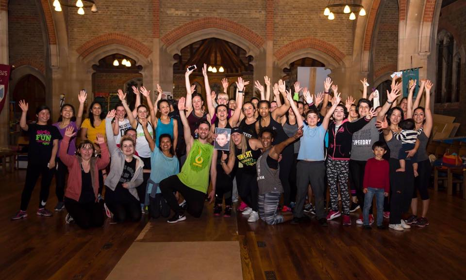 Zumba & Bokwa Party for Denisa O'Neill at St Andrews Church