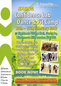 Confidence Lab Dance & Fit Camp, Summer 2017
