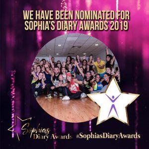 2019 Sophia's Diary Awards - Fitness Vibe